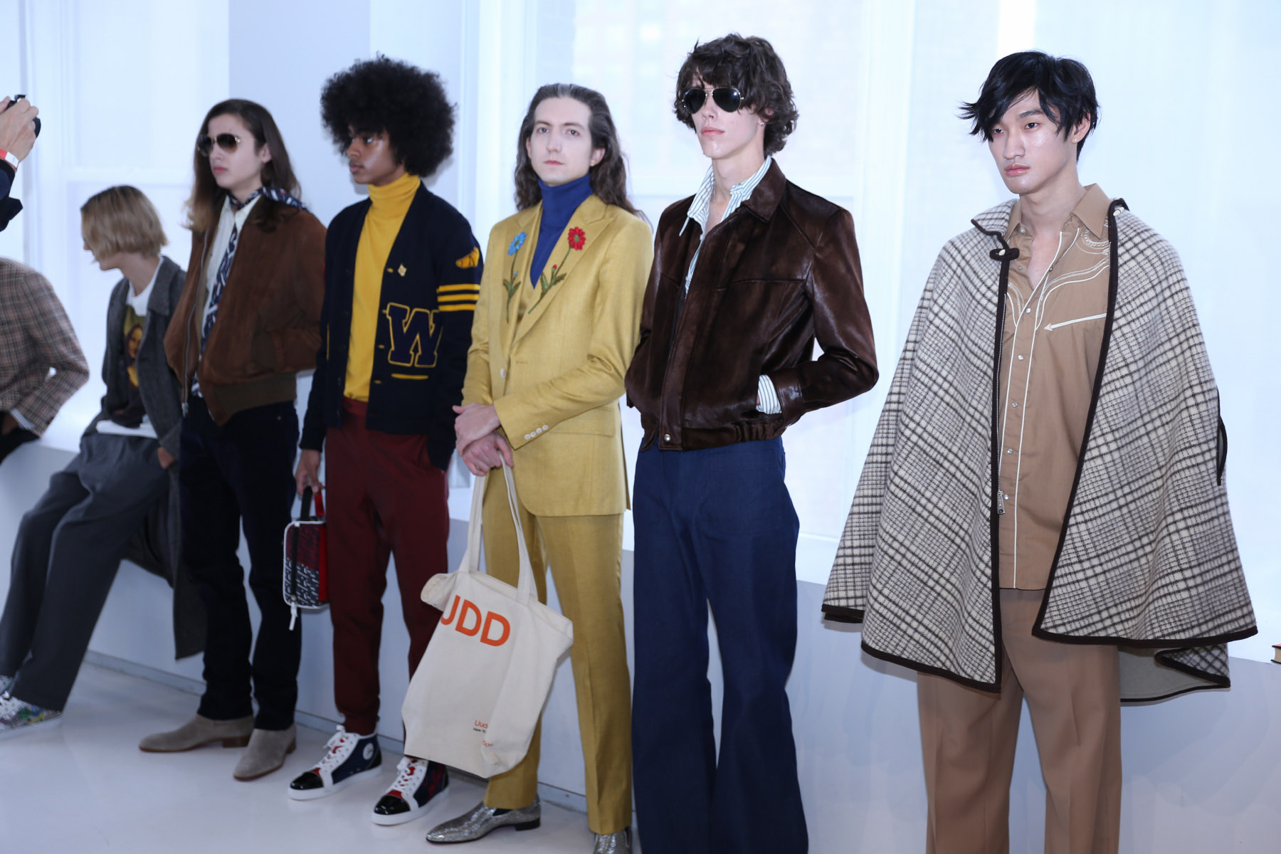 R. MUTT BY DAVID HART FALL WINTER 2020 NEW YORK MENS DAY LOOKS