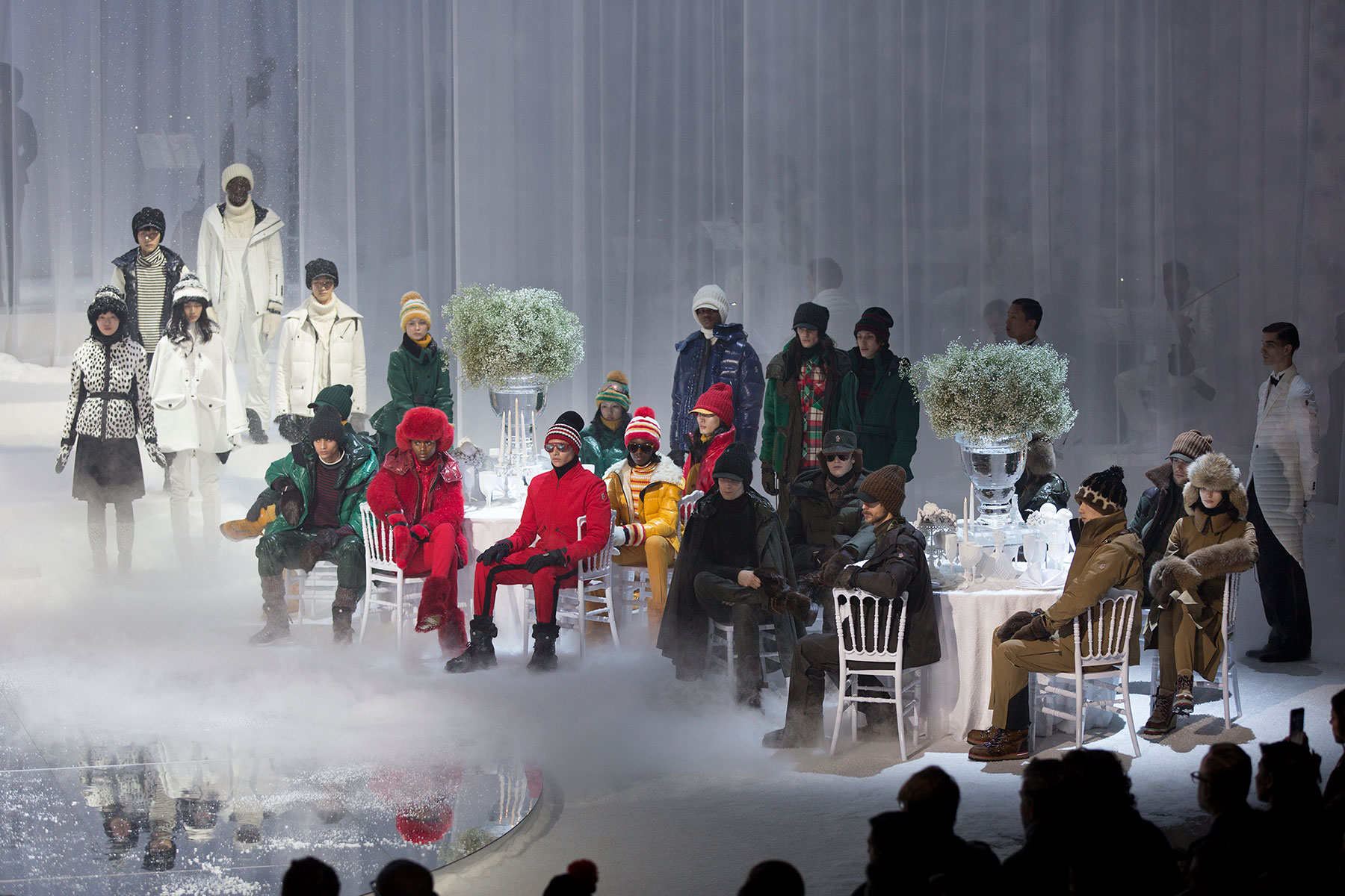 MONCLER GRENOBLE FALL WINTER 2017 NYFW RUNWAY