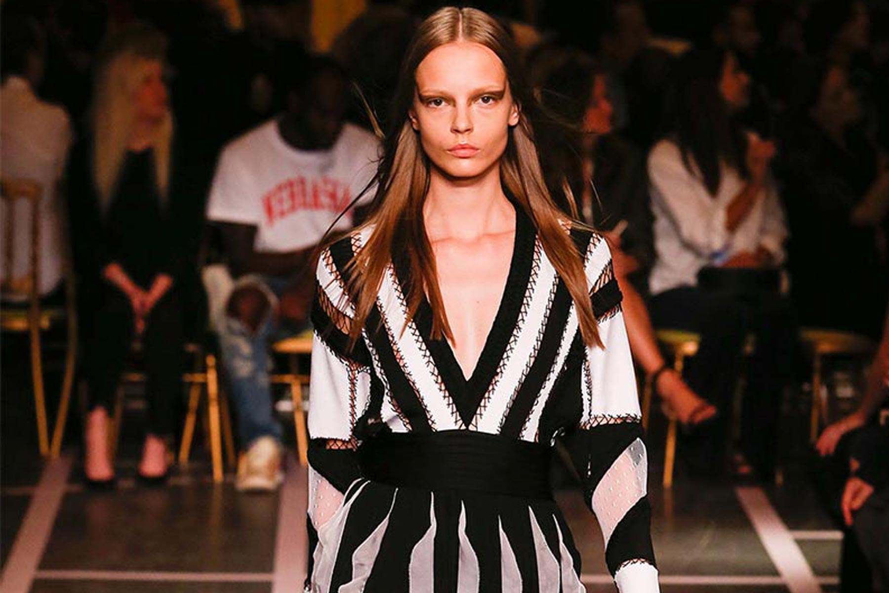 GIVENCHY SPRING SUMMER 2015 Paris Fashion Week