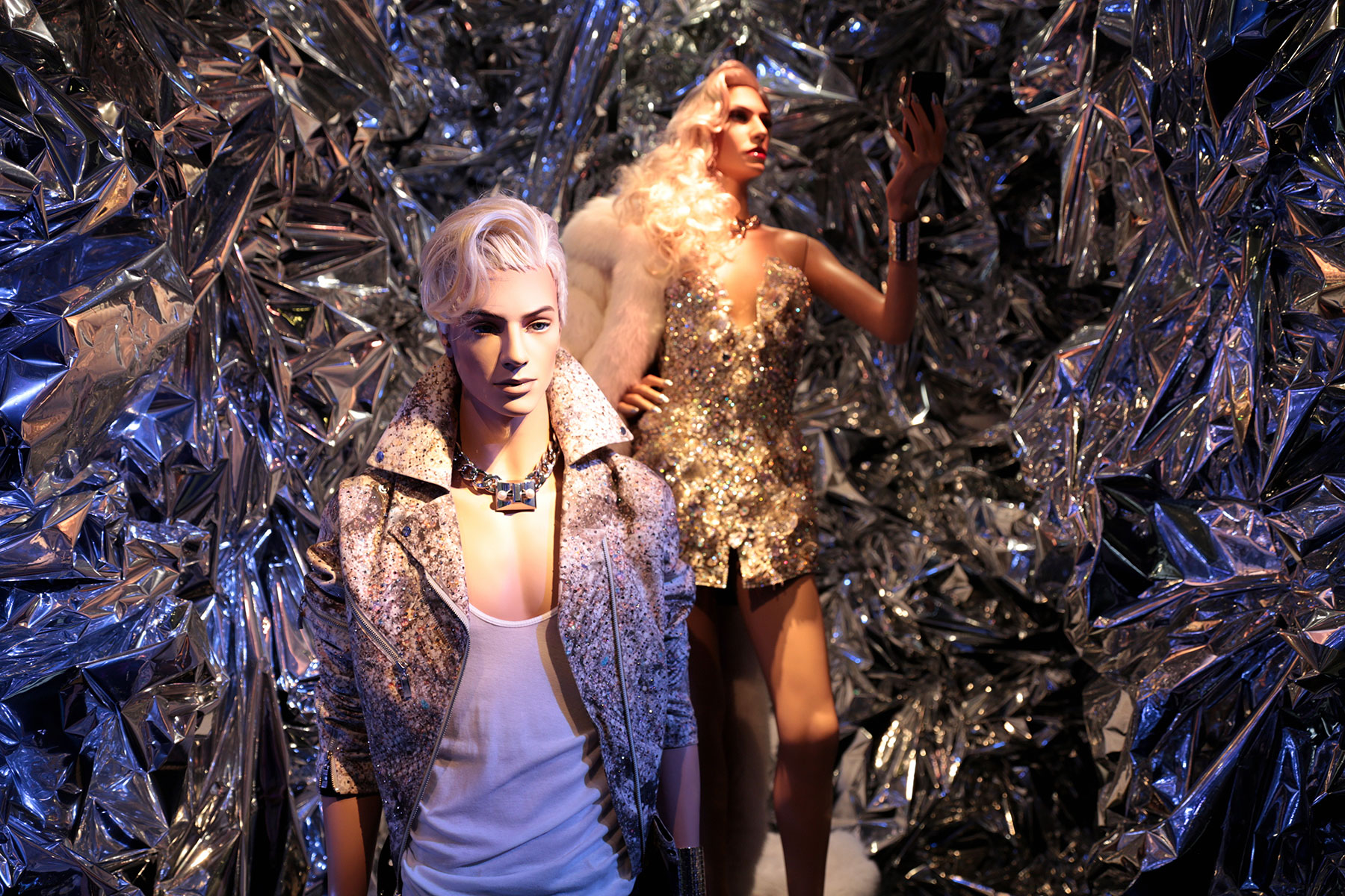 Phillipe Blond in The Blonds Collections - The Retrospective